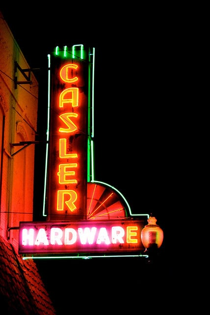 Casler store sign